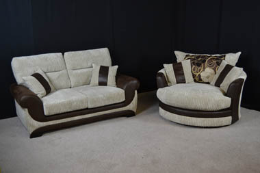Kirk Fitted Back Sofa £499, call us now on 02477 982614